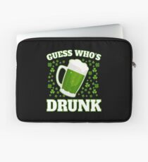 Funny St. Patrick's Day Apparel Laptop Sleeve