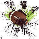 Grunge-Rugby 8 von AnnArtshock