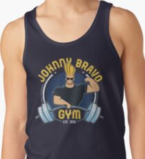 f840532679bc0a Johnny Bravo Gym Men s Tank Top