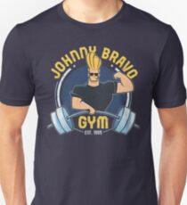 Johnny Bravo Fitnessstudio Unisex T-Shirt