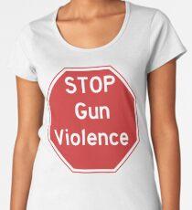 Stop Gun Violence Gun Control Shirt Women's Premium T-Shirt