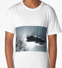 Monochrome Sky Long T-Shirt