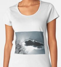 Monochrome Sky Women's Premium T-Shirt