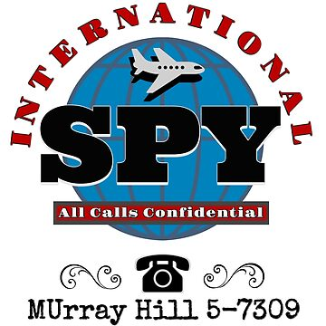 Retro International Spy Conspiracy by Bernflag