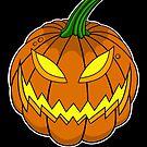 Spooky Pumpkin by JumpScare