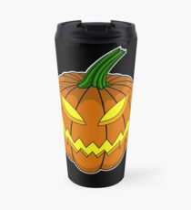Spooky Pumpkin Travel Mug
