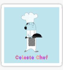 Celeste Chef Sticker