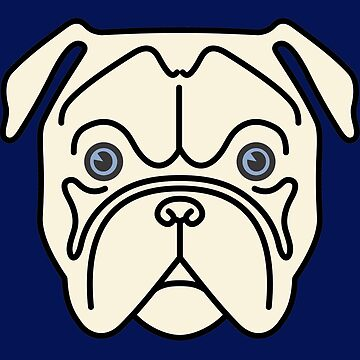 Blue-eyed bulldog by philipinct