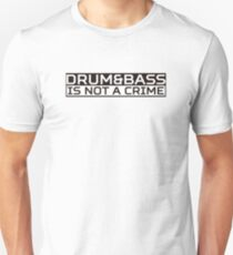 DNB White Unisex T-Shirt
