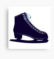 Ice skate Canvas Print