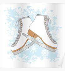 Ice skates Poster