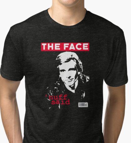 Dirk Benedict - The Face Tri-blend T-Shirt