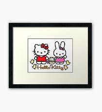 Hello Kitty Happy Easter 1 Framed Print
