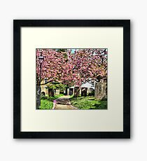Church Yard Framed Print