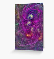 'Simple Abstract 005' Greeting Card