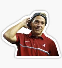 Saban w/ Backwards Hat Sticker
