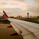 LAX Airport by Pamela Hubbard