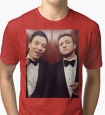 Jimmy Fallon and Justin Timberlake Tri-blend T-Shirt