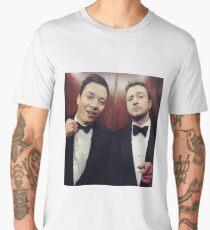 Jimmy Fallon and Justin Timberlake Men's Premium T-Shirt