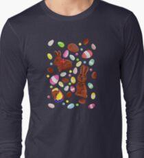 Easter Egg Bounty - Navy Long Sleeve T-Shirt