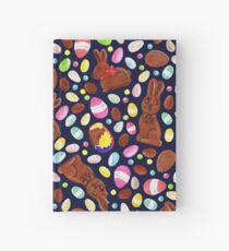 Easter Egg Bounty - Navy Hardcover Journal
