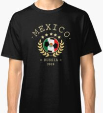 Mexico Mexican Soccer Team Russia 2018 T Shirt Football Fan copa mundial  Classic T-Shirt