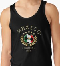 Mexiko-mexikanische Fußball-Team Russland 2018 T-Shirt Fußball Fan Copa Mundial Tank Top