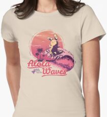 Alola Waves Women's Fitted T-Shirt