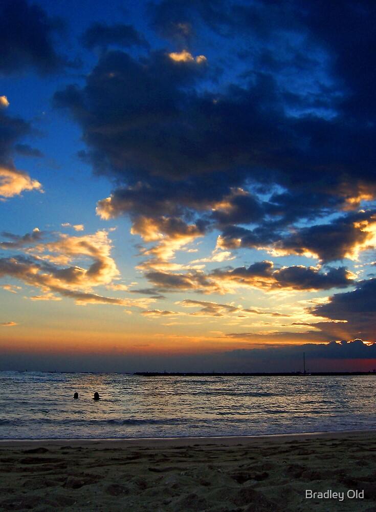 Blue Sunset by Bradley Old