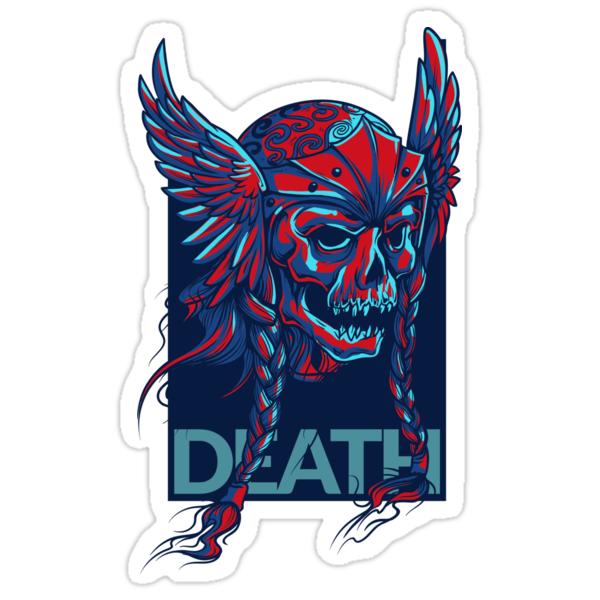 DEATH - VIKING SKULL DEVIL\
