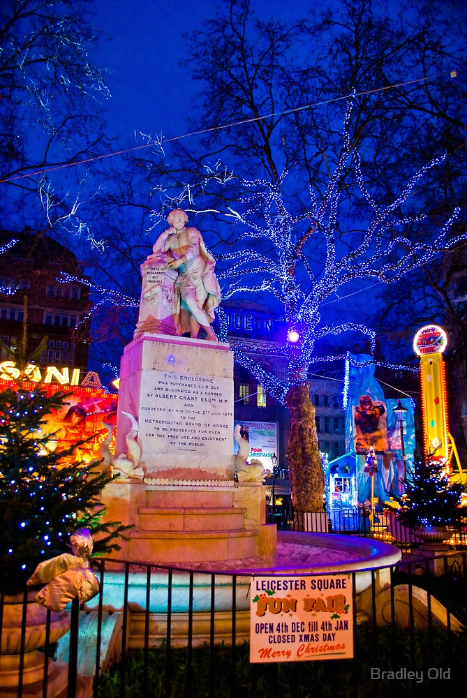 Leicester Square Funfair by Bradley Old