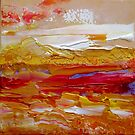 Red Ochre By V.kelly by Valerie Anne Kelly