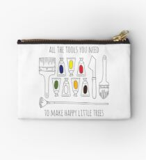 All The Tools You Need To Make Happy Little Trees Colour Pop Zipper Pouch