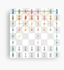 play chess Metal Print