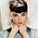 Audrey Hepburn von Marlene Watson