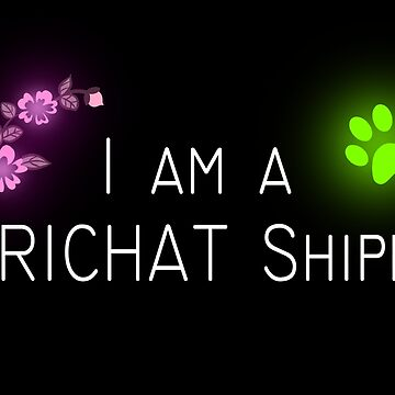 I am a MARICHAT Shipper - Miraculous Ladybug by oceaneplrd