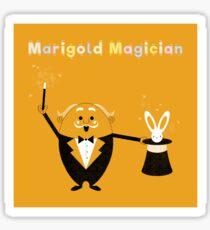 Marigold Magician Sticker