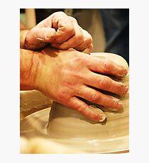 Ceramics. Photographic Print