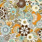 70s Style Flower Power by PaulaOhreen