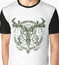 Jäger-Wappen Grafik T-Shirt