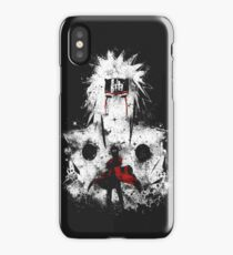 Naruto jiraiya red iPhone Case