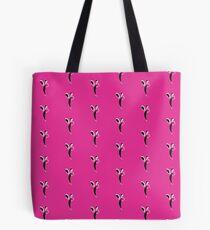 Fuchsia Flapper Tote Bag