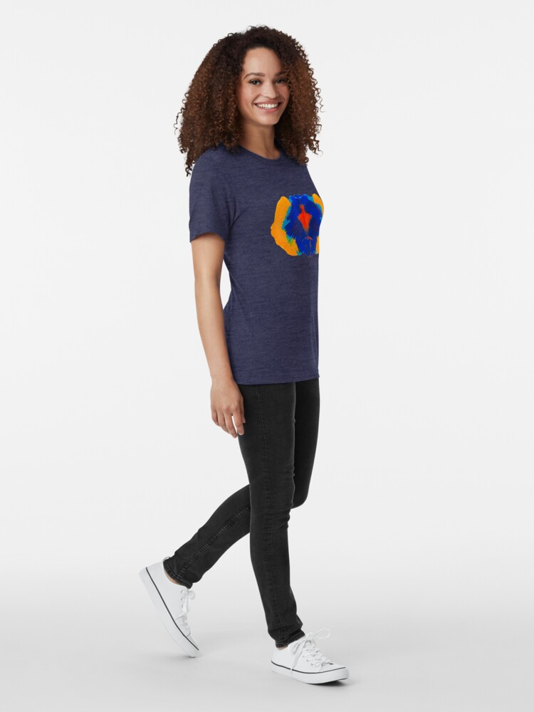 Alternative Ansicht von Tintenklecks Geist Vintage T-Shirt