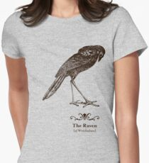The Raven of Wretchedness Womens Fitted T-Shirt