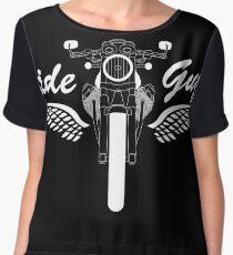 Moto Guzzi V7 Cafe Racer Front Chiffon Top