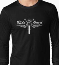 Moto Guzzi V7 Cafe Racer Front Long Sleeve T-Shirt