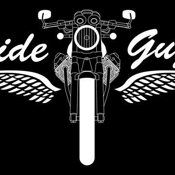 Moto Guzzi V7 Cafe Racer Front by diekleineisa