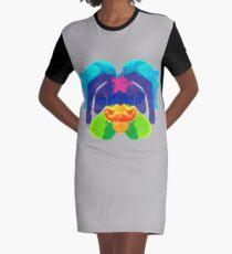 Tintenklecks Delphin T-Shirt Kleid