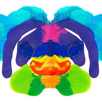 Tintenklecks Delphin von TintenklecksArt