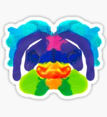 Tintenklecks Delphin Sticker